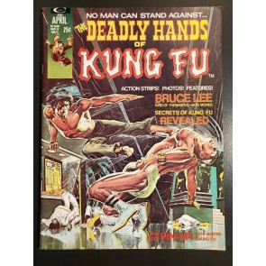 Deadly Hands Of Kung Fu # 1 (1974) F/VF 7.0 looks NM Neal Adams Bruce Lee cover|