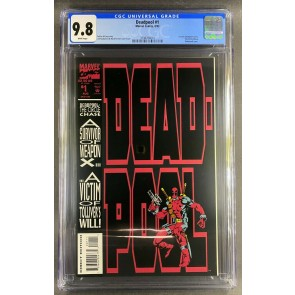 Deadpool (1993) #1 CGC 9.8 Circle Chase 1st Solo Deadpool Comic (3798784010)