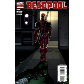 Deadpool (2008) #3 VF/NM 2nd Printing Paco Medina Variant Cover