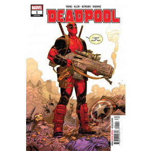 Deadpool (2018) #1 VF/NM 1st Printing