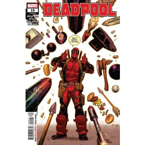 Deadpool (2018) #15 VF/NM Nic Klein Cover Final Issue