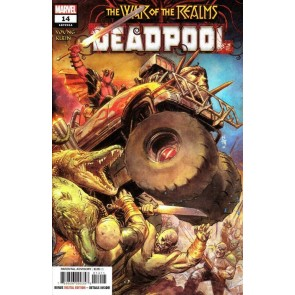 Deadpool (2018) #14 VF/NM-NM Secret Carnage Logo Variant Cover