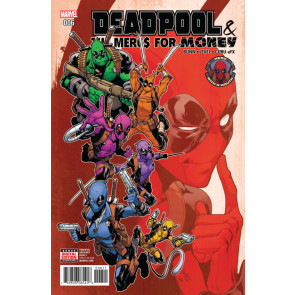 Deadpool & The Mercs For Money (2016) #6 VF/NM