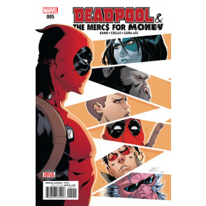 Deadpool & The Mercs For Money (2016) #5 VF/NM