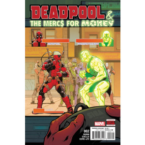 Deadpool & The Mercs For Money (2016) #2 VF/NM