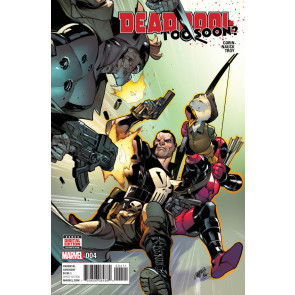 Deadpool: Too Soon (2016) #4 VF/NM