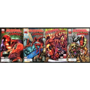 Deadpool vs Carnage (2014) NM (9.4) #1 2 3 4 complete set