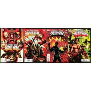 Deadpool's Secret Secret Wars (2015) #1 2 3 4 NM (9.4) complete set