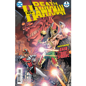 Death of Hawkman (2016) #1 of 6 VF/NM Aaron Lopresti Cover