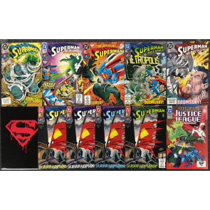 Death of Superman Funeral Reign & Return complete set 53 comics Doomsday 18 75
