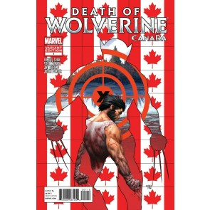 Death of Wolverine (2014) #1 VF/NM Steve McNiven Canadian Variant Cover