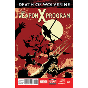Death of Wolverine: The Weapon X Program (2014) #1 of 5 VF/NM