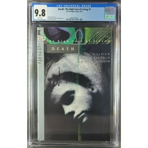 Death: The High Cost of Living #1 (1993) CGC 9.8 WP Neil Gaiman (3821184011) 