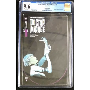 Death-Defying Doctor Mirage (2014) #1 CGC 9.6 SDCC Variant Rare (212826015)