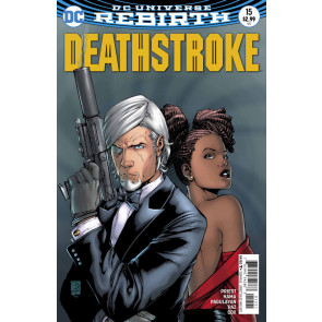 Deathstroke (2016) #15 VF/NM (9.0) variant cover DC Universe Rebirth