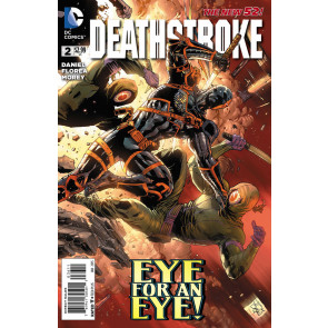 Deathstroke (2014) #2 VF/NM Tony Daniel Cover