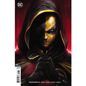 Deathstroke (2016) #33 VF/NM Francesco Mattina Variant Cover DC Universe