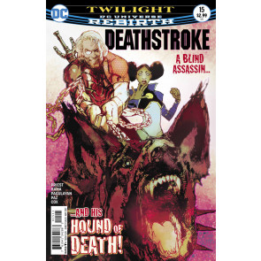Deathstroke (2016) #15 VF/NM (9.0) Bill Sienkiewicz cover DC Universe Rebirth