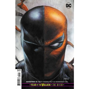 Deathstroke (2016) #45 VF/NM-NM David Finch Card Stock Variant Cover YOTV