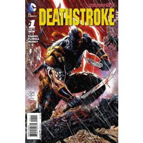 Deathstroke (2014) #1 VF/NM 1st Prinitng Tony Daniel Cover The New 52!