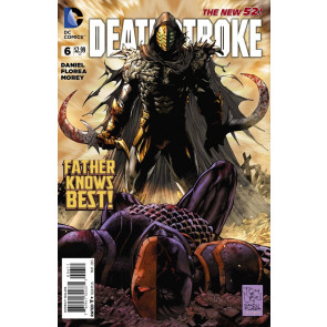 Deathstroke (2014) #6 VF+ Tony Daniel Cover