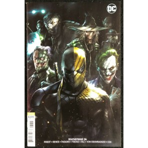Deathstroke (2016) 36 37 38 39 40 VF/NM Complete Arkham Story Arc W/ #36 Variant