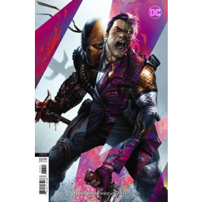 Deathstroke (2016) #38 VF/NM Francesco Mattina Variant Cover DC Universe