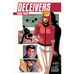 DECEIVERS (2013) #3 VF/NM BOOM!