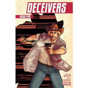 DECEIVERS (2013) #5 VF/NM BOOM!
