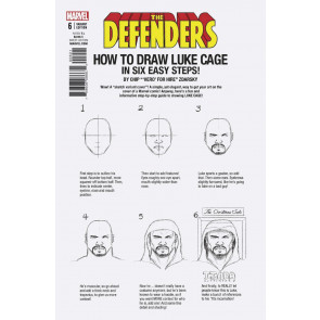 Defenders (2017) #6 VF/NM How To Draw Variant Cover