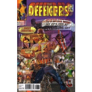 Defenders (2017) #6 VF/NM Lenticular Homage Variant Cover Avengers #16
