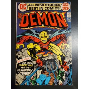 Demon 1 (1972) VF- (7.5) 1st Appearance -Etrigan the Demon high grade |