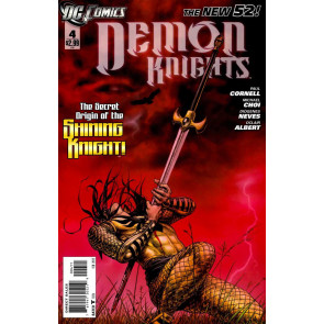 DEMON KNIGHTS #4 FN/VF - VF- THE NEW 52!