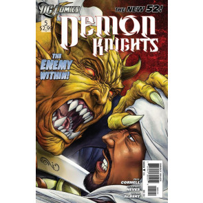 DEMON KNIGHTS #5 NM THE NEW 52!