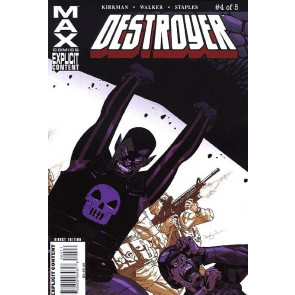 DESTROYER #4 OF 5 NM MARVEL COMICS MAX ROBERT KIRKMAN