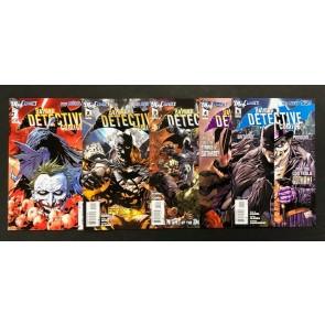 Detective Comics (2011) #'s 1 2 3 4 5 Tony Daniel Cover & Art The New 52!
