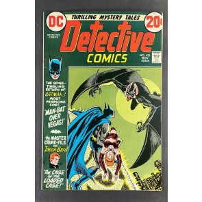 Detective Comics (1937) #429 VF (8.0) Mike Kaluta Cover Man-Bat She-Bat