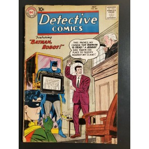 Detective Comics 281 VG (4.0) Batman & Robin Martian Manhunter! Sheldon Moldoff 