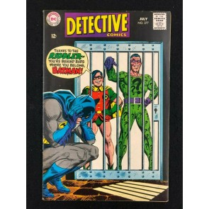 Detective Comics (1937) #377 FN/VF (7.0) Batman The Riddler