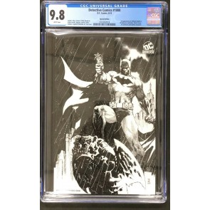 Detective Comics (1937) #1000 CGC 9.8 Rare Jim Lee Sketch Variant (3701832019)