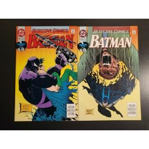 Detective Comics #657 #658 (1993) NM- 9.2 Sam Keith/Kelly Jones cover Azrael|