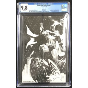Detective Comics #1000 Special Edition CGC 9.8 Jim Lee Sketch Variant 3701832010