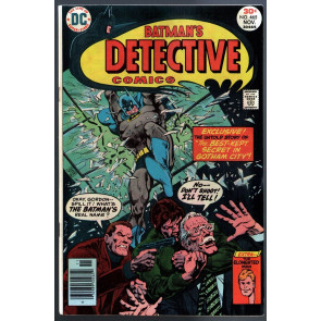Detective Comics (1937) #465 VF (8.0) Batman