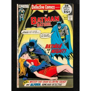 Detective Comics (1937) #417 VF+ (8.5) Batman Batgirl Neal Adams Cover
