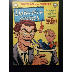 Detective Comics 143 GD (2.0) Canadian ed. Batman! Robin! Golden Age DC 1949!|
