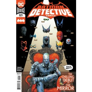 Detective Comics (2016) #1029 VF/NM 1st App The Mirror Kenneth Rocafort Cover