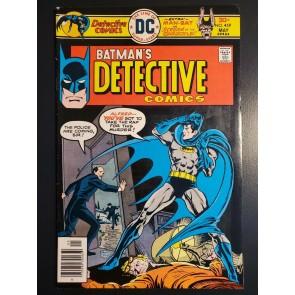 Detective Comics #459 VF- Chan Garcia-Lopez Marcos Batman Man-Bat Gargoyle
