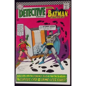 DETECTIVE COMICS #364 FN/VF EARLY RIDDLER APPEARANCE BATMAN