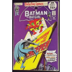 DETECTIVE COMICS #418 FN+ BATMAN CREEPER BATGIRL NEAL ADAMS COVER