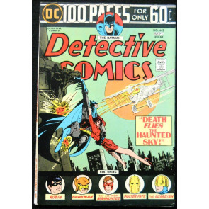 DETECTIVE COMICS #442 VF+ GA NEWSBOY LEGION BLACK CANARY DR FATE